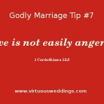 Love is not easily angered.