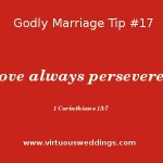 Godly Marriage Tip #17 ~ www.virtuousweddings.com