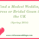 Modest Wedding Dress Guide, United Kingdom, Spring, 2014