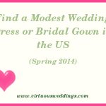 Modest Wedding Dress Guide, USA, Spring, 2014