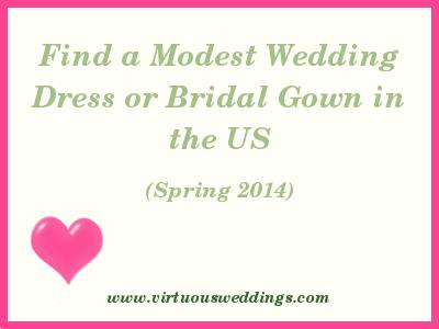 Modest Wedding Dress Guide, USA, Spring, 2014