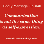 Godly Marriage Tip #40| More Godly Marriage Tips at www.virtuousweddings.com