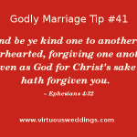 Godly Marriage Tip #41| More Godly Marriage Tips at www.virtuousweddings.com