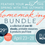 The Ultimate Homemaking Ebook Bundle Sale