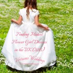 Finding Modest Flower Girl Dresses in the UK (2015)