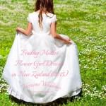 Finding Modest Flower Girl Dresses in New Zealand (2015)
