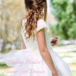 Finding Modest Flower Girl Dresses in South Africa (2015)