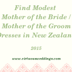 Finding Modest Mother of the Bride and Mother of the Groom Dresses in New Zealand (2015)