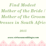 Finding Modest Mother of the Bride and Mother of the Groom Dresses in South Africa (2015)