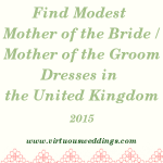 Finding Modest Mother of the Bride and Mother of the Groom Dresses in the UK (2015)