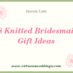 Quick List: 18 Knitted Bridesmaid Gift Ideas