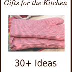 Little Handmade Gifts for the Kitchen: 30+ Ideas