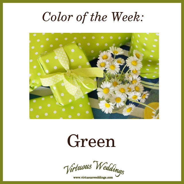 Color of the Week: Green