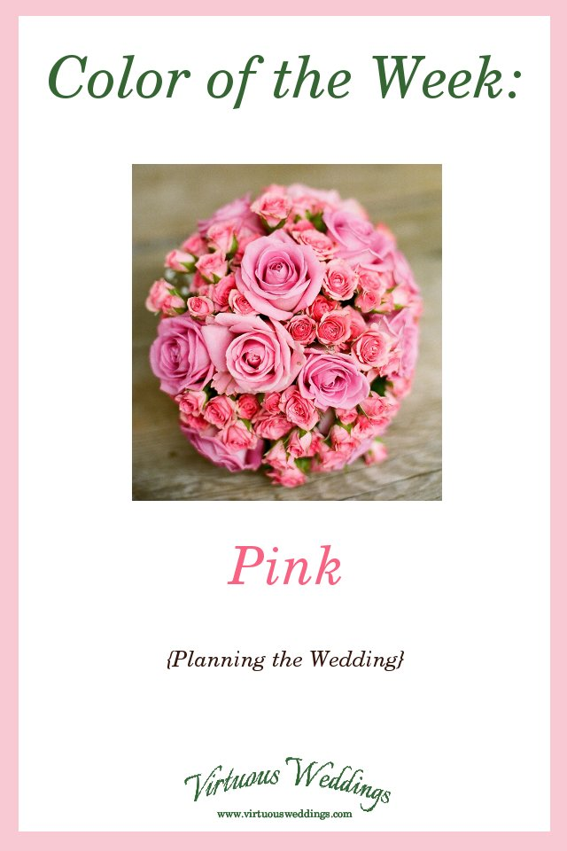 Color of the Week: Pink