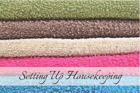 Setting Up Housekeeping
