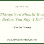 7 Things You Should Read Before You Say I Do
