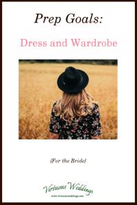 Prep Goals: Dress and Wardrobe