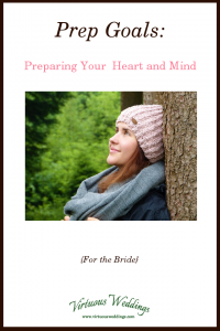 Prep Goals: Preparing Your Heart and Mind