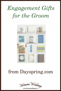 Engagement Gifts for the Groom from Dayspring.com