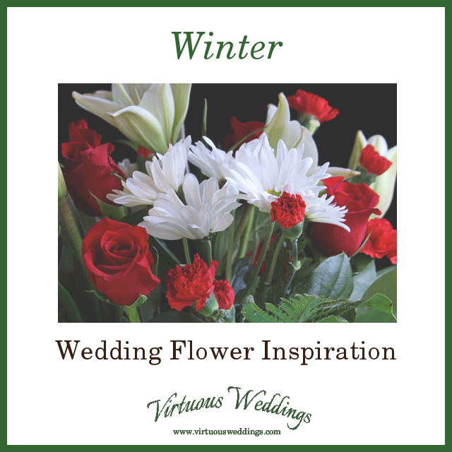 Winter Wedding Flower Inspiration