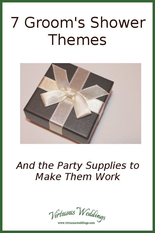 7 Groom's Shower Themes (and the party supplies to make them work)