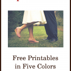 Ephesians 5 Free Printables in Five Colors