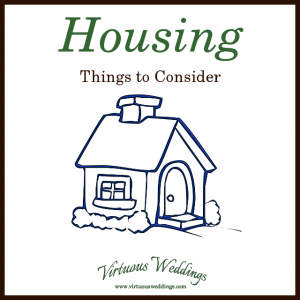 Housing: Things to Consider
