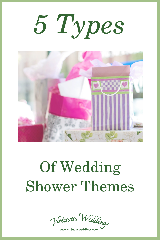 5 Types of Wedding Shower Themes