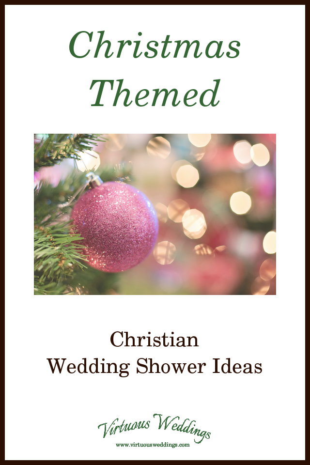 do you have friends who are getting married soon and love christmas give them a christmas themed wedding shower