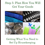 The Goods Steps ~ Step 5: Plan How You Will Get Your Goods