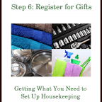 The Goods Steps ~ Step 6: Register for Gifts