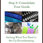 The Goods Steps ~ Step 3: Consolidate Your Goods