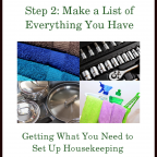 The Goods Steps ~ Step 2: Make a List of Everything You Have