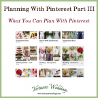 Planning With Pinterest Part 1: What You Can Plan ~ Virtuous Weddings