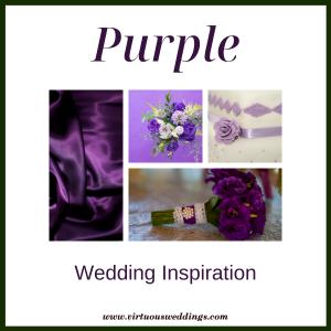 Purple wedding inspiration | www.virtuousweddings.com