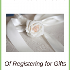 The Pros and Cons of Registering for Gifts