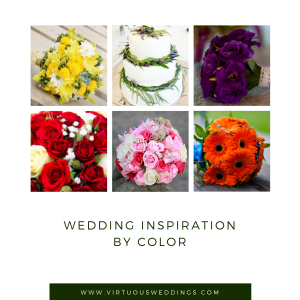 Wedding Inspiration by Color from Virtuous Weddings